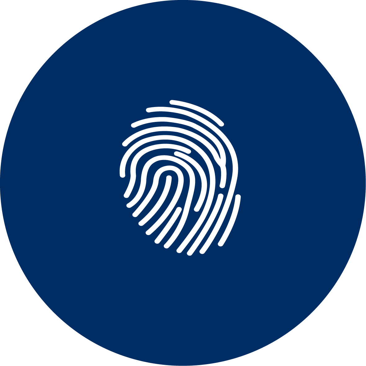 Log in with your fingerprint