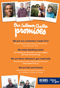 customer care charter template - client service charter template gallery template design
